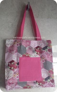 shopping tote, step by step instruction, guest blogger post