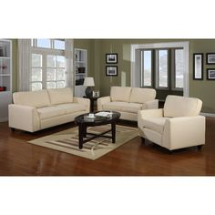 Townsend Studio 3 Piece Living Room Set Multiple Colors Furniture Walmart