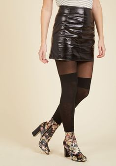So to Chic Mini Skirt, @ModCloth