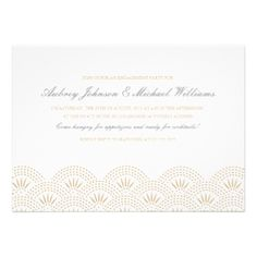 #invitation #engagement #party #wedding #art #deco #gold #white #gatsby #great #20's