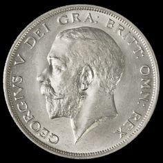 1915 George V Silver Half Crown – G/EF