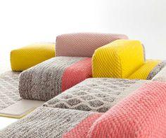 Create a Seating Arrangement as Cozy as a Sweater | Designs & Ideas on Dornob #Bizaree4home