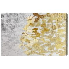 Platinum and gold abstract artwork