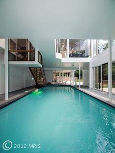 Indoor pool? Yes please!