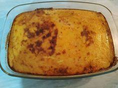 """Γαλατόπιτα """"κλεμμένη"""" Baked Potato, Zucchini, Potatoes, Baking, Vegetables, Ethnic Recipes, Gladiolus, Food, Garden"""