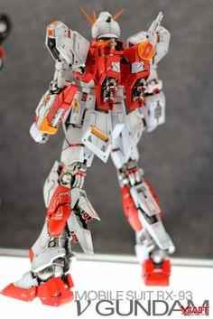 GUNDAM GUY: MG 1/100 RX-93 Nu Gundam Ver.Ka - Customized Build