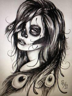 Ao contrário da religião católica e sua tradição de luto no dia dos mortos, para os mexicanos o dia dos mortos é um dia de muita felici...