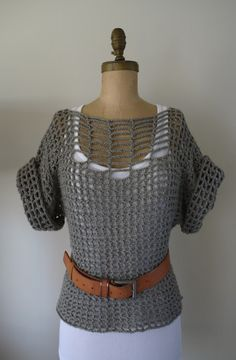 [Crochet Pattern] Seriously Easy And Superb Summer Sweater