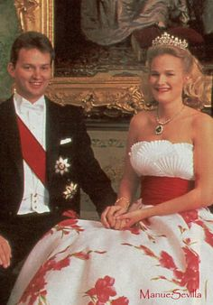 The Wurttemberg's eldest son, Duke Friedrich got engaged to Princess Marie of Wied early in 1993.