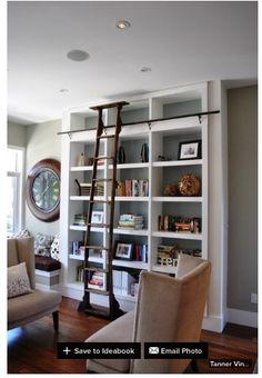 Alternate use for formal living room. #library
