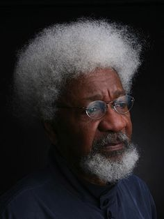 """Today In History 'Wole Soyinka, Nigerian novelist, playwright, poet, and teacher, was born on this date July 13, 1934. His powerful writings enabled him to become the first African writer to win the """"Nobel Prize"""" for literature in 1986.' (photo: Wole Soyinka) - CARTER Magazine"""