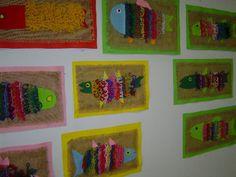 Kouluhommia Textiles, Art Club, Handicraft, Art Designs, Mosaic, Weaving, Kids Rugs, Stitch, Google Search