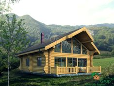 Proiect Doralnic 17 Case din busteni - Cabane din lemn Cabin Homes, Home Fashion, Case, Cabana, House Styles, Photography, Home Decor, Photograph, Decoration Home