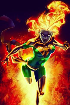 Dark Phoenix by Randy Green / by `OneFreeInternet on deviantART Comic Book Characters, Marvel Characters, Comic Character, Comic Books Art, Comic Art, Marvel Comics Art, Marvel X, Marvel Heroes, Captain Marvel