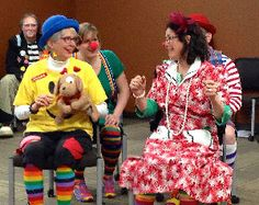 Medical Clowning in a Physical Therapy Setting: Such creative approaches to therapy can empower patients. http://physical-therapy.advanceweb.com/Features/Articles/Medical-Clowning-in-a-Physical-Therapy-Setting.aspx