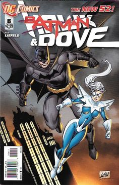 Hawk And Dove # 6 DC Comics The New 52! Vol 5 First Print