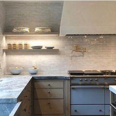 Home Interior Design .Home Interior Design Kitchen And Bath, New Kitchen, Kitchen Dining, Kitchen Decor, Kitchen Cabinets, Design Kitchen, Wood Cabinets, Kitchen Tile, White Cabinets