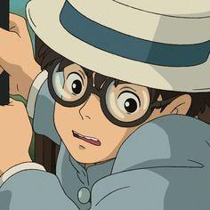 Studio Ghibli Art, Studio Ghibli Movies, Jiro Horikoshi, Safe Place, Homescreen, Films, Anime, Icons, Cartoon