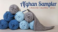 Crochet 2 squares a month and have a finished afghan by the end of the year! | The Inspired Wren