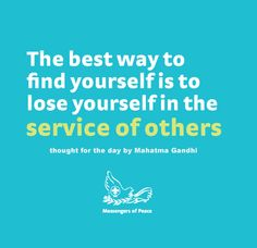 inspiring quote Mahatma Gandhi, Losing You, Finding Yourself, Inspirational Quotes, Peace, Good Things, Thoughts, Day, Life Coach Quotes
