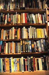 Neil Gaiman's bookshelves 3
