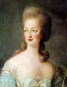 Marie Antoinette in 1778 by Élisabeth-Louise Vigée-Le Brun.