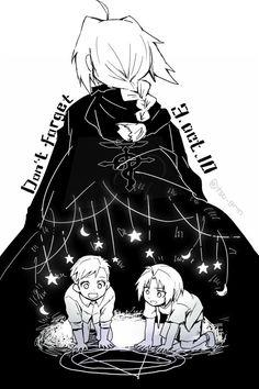 Fullmetal Alchemist (FMA): Edward Elric, Alphonse Elric // Don't forget 3.oct.10 | つぐら☂ (@tsu_grm) | Twitter