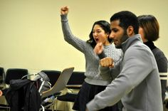 University of Oregon American English Institute (UO AEI) Theater Elective Class - http://studyusa.com/