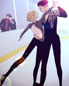 Shall we have a dance on ice?