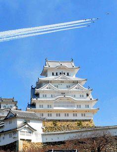 Himeji castle 姫路城(姫路市水野義則氏撮影)
