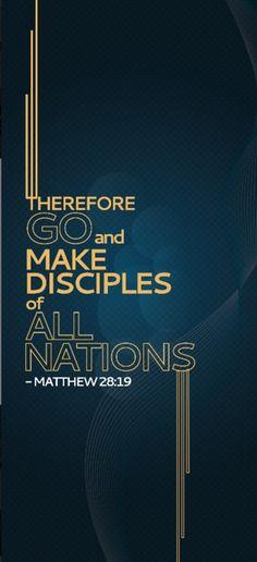 Matthew 28:19.