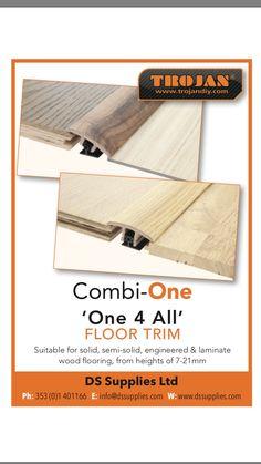 Innovation winner 2017 Trojan ''Combi - ONE'' Floor Trim, Wood Laminate, Ds, Innovation, Profile, Flooring, User Profile, Wood Flooring, Floor