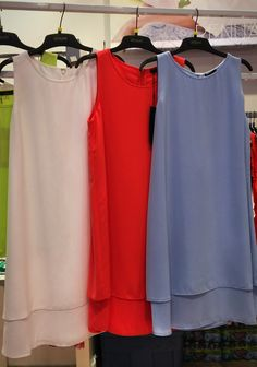 Very Flattering Dress Just Arrived! - Colors available are lime, coral