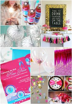 Last Minute New Year's Eve Party Ideas by Bird's Party