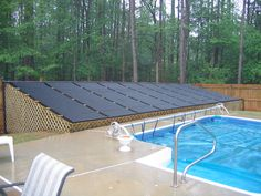 Build Your Own Solar Pool Heater for Under $100