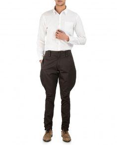 Plain Brown Trouser by Tarun Tahiliani