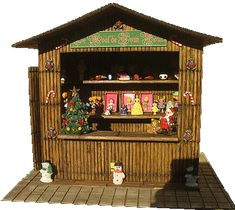 how to: Christmas market stall