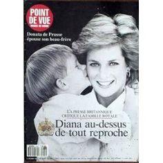 Point De Vue Images Du Monde N° 2221 Du 21/02/1991 - Diana Au-Dessus De Tout Reproche - Donata De Prusse Epouse Son Beau-Frere.