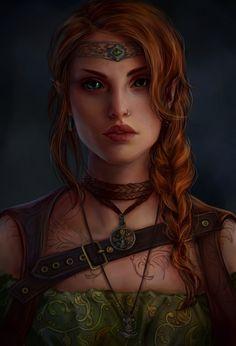 ArtStation - teso character, Anna Helme
