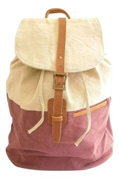 e69c4e5efc1 This roomy drawstring canvas rucksack is great for the beach