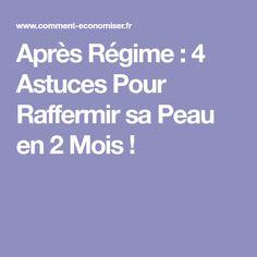 Après Régime : 4 Astuces Pour Raffermir sa Peau en 2 Mois ! Abdo Workout, Projects, Thighs