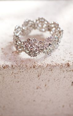I'm falling in love with all these non traditional engagement rings. This one is especially stunning.