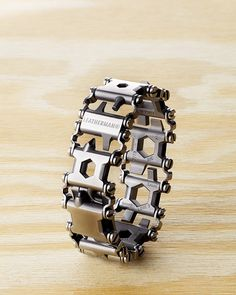 This Week's Must-Haves: Leatherman's Multi-Tool Bracelet Won't Get You Stopped by Security | Adweek // This is fascinating from a design perspective, but I am questioning the usability of this...