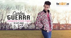 La chaqueta perfecta para ti que vives la moda a tu estilo ¡Amamos vernos diferentes! Encuéntrala en nuestra tienda virtual #TheClosetco #RedDeDiseñadores #DiseñoIndependiente Carlos Guerra