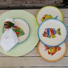 Que estos platos no falten en tu mesa en esta Semana Santa que se aproxima!  (Sets de 4) #casamargot #detalles #hogar #mesa #semanasanta