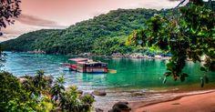 A maior das ilhas é também a que merece mais destaque. Ilha Grande tem 193km² de exuberante Mata Atlântica e costa repleta de penínsulas e praias, sendo uma mais linda que a outra