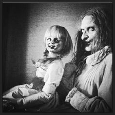 Annabelle and Beth Sheba from The Conjuring