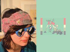 plait twist gold detail LOLLY headband via Etsy