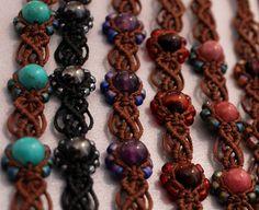 Macrame Bracelets ~ Inspiration