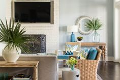 Flat Skylines - The Biggest Decorating Don'ts - Southernliving. Don't limit your…